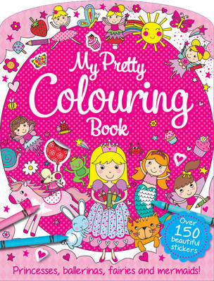 My Pretty Pink Colouring Book by
