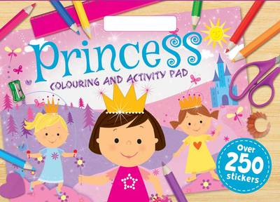 Princesses Colouring Pad by
