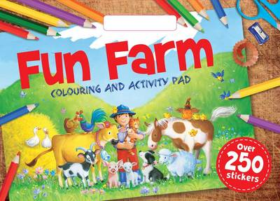 Farm Colouring Pad by
