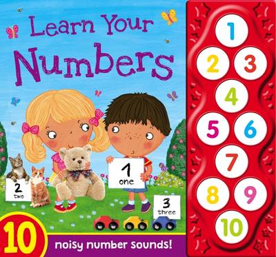 Learn Your Numbers - First Learning Sounds by
