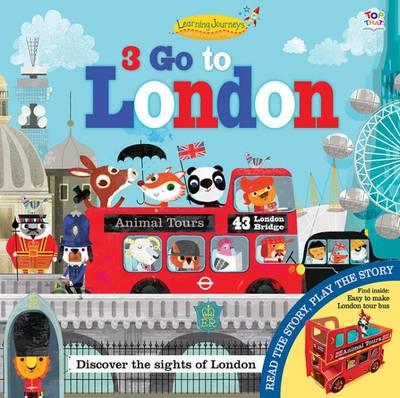 Three Go to London by Alabama Graham, Oakley Graham