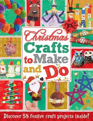 Christmas Crafts to Make and Do Activity Books by Nat Lambert