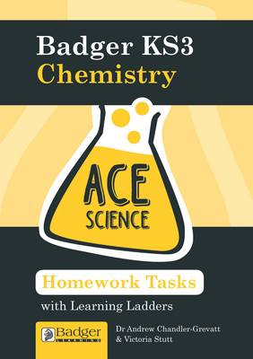 Homework Activities with Learning Ladders Chemistry Teacher Book + CDs and Site Licence by Andrew Chandler-Grevatt, Victoria Stutt