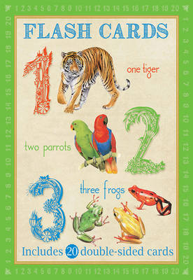 Animal Flash Cards: 123 by Camilla de le Bedoyere