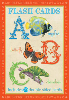 Animal Flashcards: ABC by Camilla de le Bedoyere