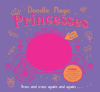 Doodle Magic Princess by Srimalie Bassani
