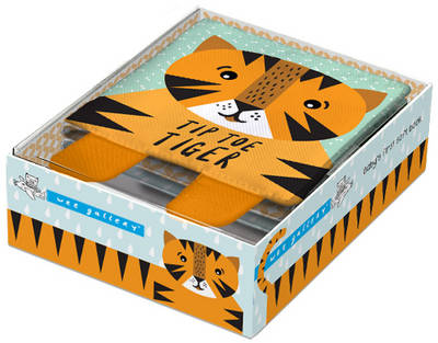 Wee Gallery Cloth Books: Tip Toe Tiger Baby's First Soft Book by Surya Sajnani