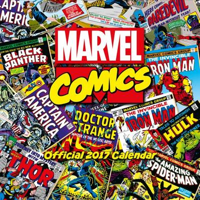 Marvel Comics Classic Official 2017 Square Calendar by