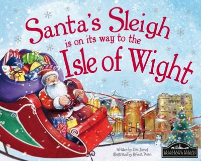 Santa's Sleigh is on its Way to Isle of Wight by Eric James