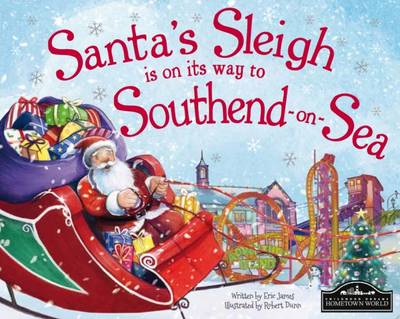 Santa's Sleigh is on its Way to Southend on Sea by Eric James