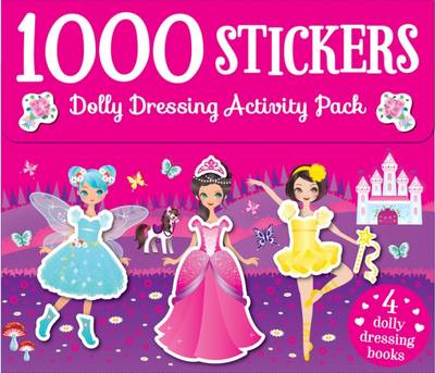 1000 Dolly Dressing Stickers by