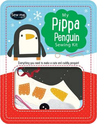 Pippa Penguin Sewing Tin by Tim Bugbird