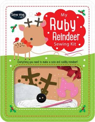 Ruby the Reindeer Sewing Tin by Tim Bugbird