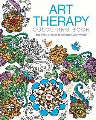 Art Therapy Colouring Book by Arcturus Publishing
