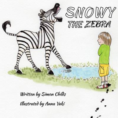 Snowy the Zebra by Simon Childs