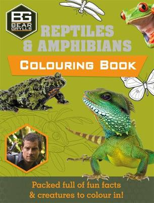 Bear Grylls Colouring Books: Reptiles by Weldon Owen Limited (UK), Bear Grylls