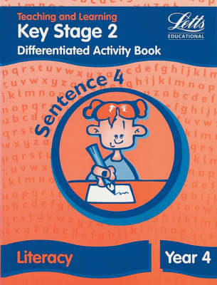 Key Stage 2 Literacy: Sentence Level Y4 Differentiated Activity Book by