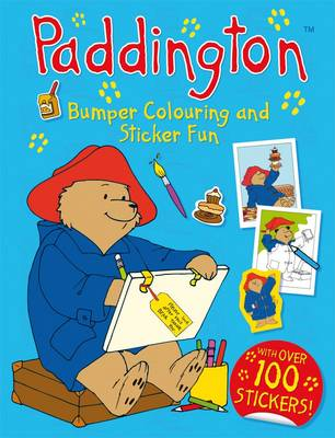 Paddington Bumper Colouring and Sticker Fun by