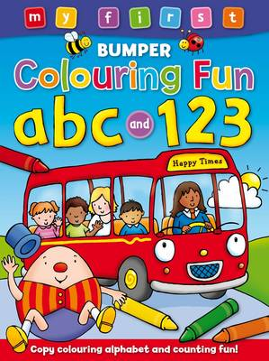 My First Bumper Colouring Fun ABC & 123 by Anna Award