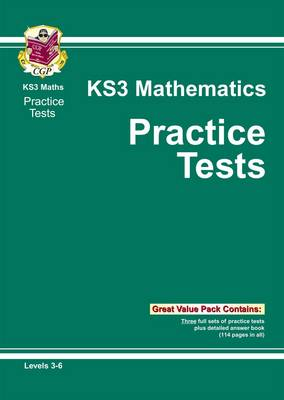 KS3 Maths Practice Papers - Levels 3-6 by CGP Books