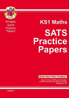KS1 Maths SATs Practice Papers - Level 2 by CGP Books