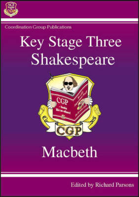 KS3 English Shakespeare Text Guide - Macbeth by CGP Books