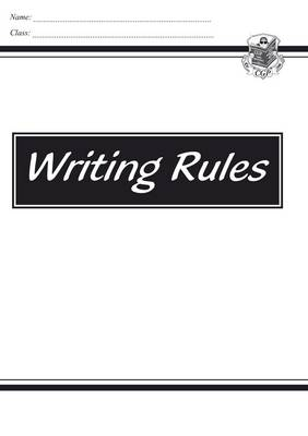 KS2 English Writing Rules by CGP Books