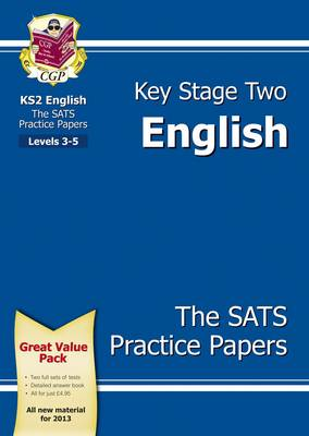 KS2 English SATs Practice Paper Pack (for the New Curriculum) by CGP Books