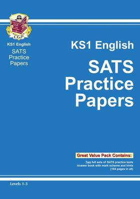 KS1 English SATs Practice Papers - Levels 1-3 by CGP Books
