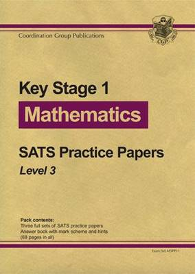KS1 Maths SATs Purple Practice Papers - Level 3 by CGP Books