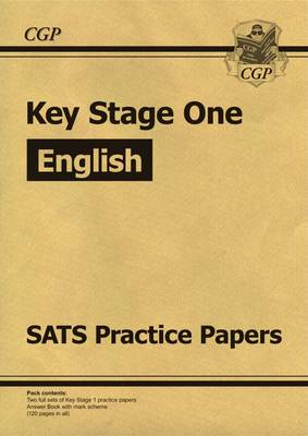 KS1 English SATs Practice Papers (for the New Curriculum) by CGP Books