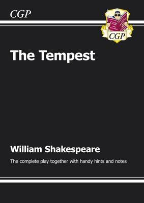 KS3 English Shakespeare the Tempest Complete Play (with Notes) The Complete Play by CGP Books