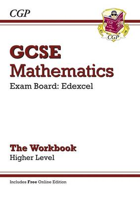 GCSE Maths Edexcel Workbook with Online Edition - Higher (A*-G Resits) by CGP Books