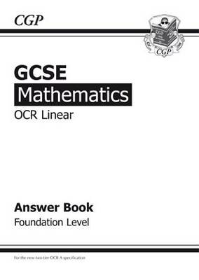 GCSE Maths OCR Linear Answers (for Workbook) - Foundation by Richard Parsons