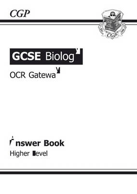 GCSE Biology OCR Gateway Answers (for Workbook) by Richard Parsons