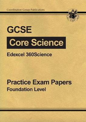 GCSE Core Science Edexcel Practice Papers - Foundation by Richard Parsons
