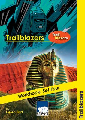 Trailblazers Workbook Workbook - Set Four : Accompanies the Traiblazers Reading Books Manga, Death and Weird Places by Helen Bird