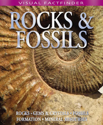 Visual Factfinder - Rocks and Fossils by Belinda Gallagher