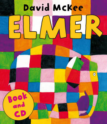 Elmer (Book & CD) by David Mckee