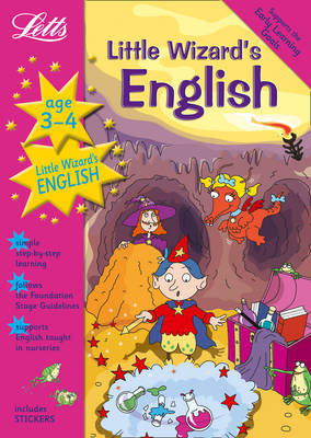 Little Wizard's English Age 3-4 by