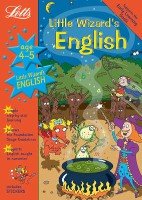 Little Wizard's English Age 4-5 by