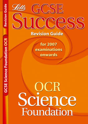 OCR Gateway (B) Science - Foundation Tier Revision Guide (2012 Exams Only) by