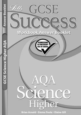 AQA Science - Higher Tier Workbook Answers (2012 Exams Only) by