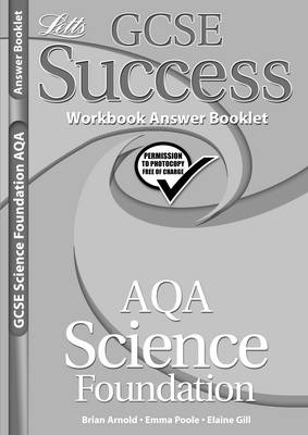 AQA Science - Foundation Tier Workbook Answers (2012 Exams Only) by