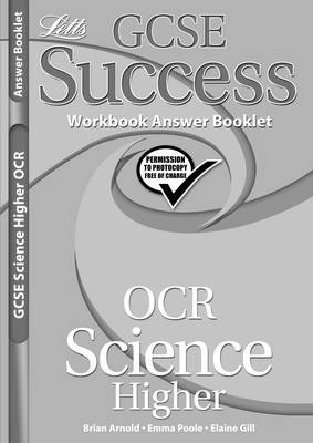 OCR Science - Higher Tier Workbook Answers (2012 Exams Only) by