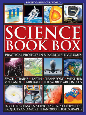 Science Book Box: Practical Projects in 8 Incredible Volumes by Chris Oxlade
