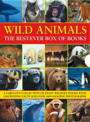 Wild Animals The Best-ever Box of Books by Barbara Taylor, Michael Bright, Rhonda Klevansky, Robin Kerrod