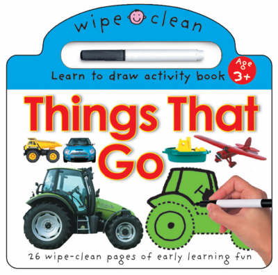 Wipe Clean - Things That Go by