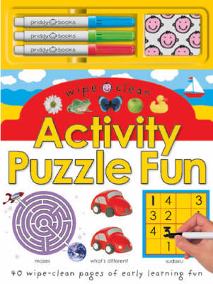 Wipe Clean Activity Puzzle Fun by Roger Priddy