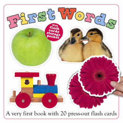 First Words Flash Card Book by Roger Priddy